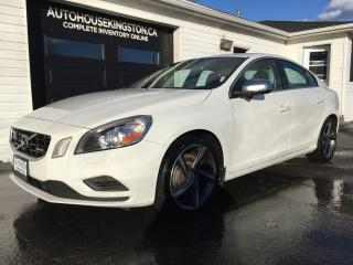 Used 2012 Volvo S60 T6 R-Design for sale in Kingston, ON