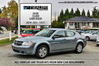Used 2010 Dodge Avenger SE 4-Cylinder, Automatic, PWR Group, Clean! for sale in Surrey, BC