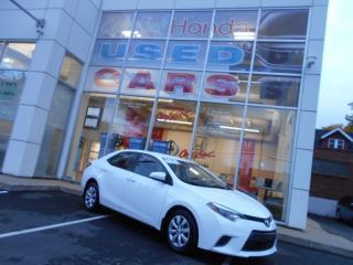 Used 2015 Toyota Corolla LE HEATED SEATS AND BACK UP CAMERA for sale in Halifax, NS