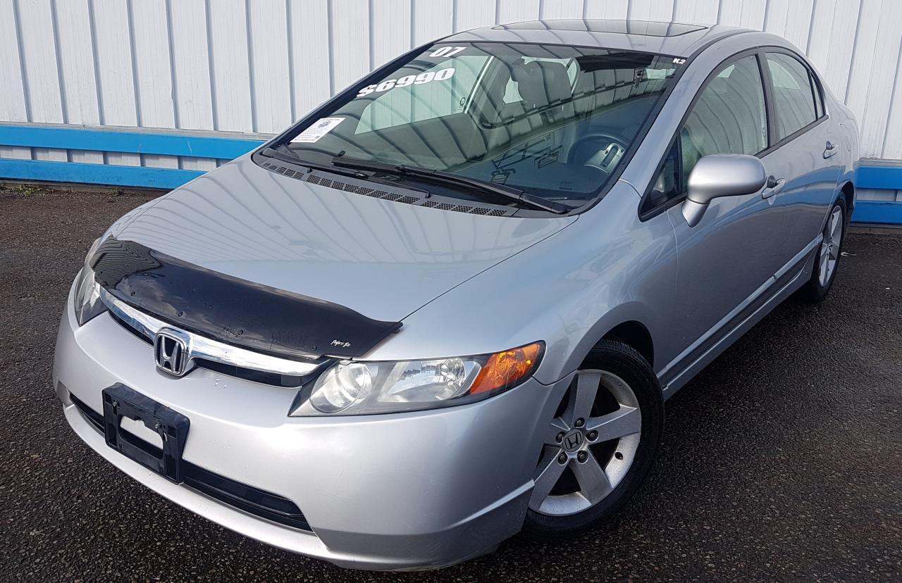 2007 Honda Civic EX *LEATHER-SUNROOF*