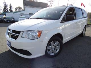 Used 2012 Dodge Grand Caravan SE, Full Sto-N-Go for sale in St Catharines, ON