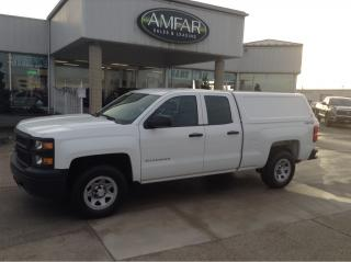 Used 2014 Chevrolet Silverado 1500 4X4 / WORK TRUCK WITH CAP for sale in Tilbury, ON