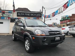 Used 2009 Hyundai Tucson 25th Anniversary NAVI/SUNROOF/4CYL ((CERTIFIED)) for sale in Hamilton, ON
