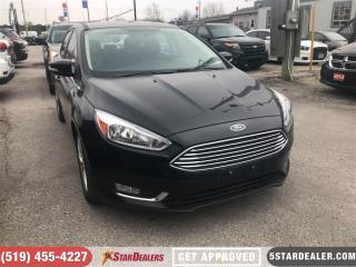 Used 2016 Ford Focus Titanium | NAV | LEATHER | ROOF for sale in London, ON
