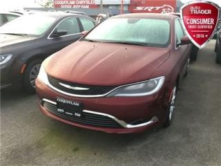 Used 2017 Chrysler 200 LX for sale in Coquitlam, BC