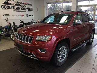 Used 2014 Jeep Grand Cherokee Overland for sale in Coquitlam, BC