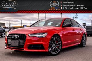 Used 2017 Audi A6 3.0T Competition|Quattro|Navi|Sunroof|Backup Cam|Bluetooth|Leather|20