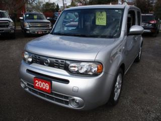 Used 2009 Nissan Cube POWER EQUIPPED SL MODEL 5 PASSENGER 1.8L - 4 CYL.. CLOTH INTERIOR.. KEYLESS START.. CD/AUX/USB.. BLUETOOTH.. for sale in Bradford, ON