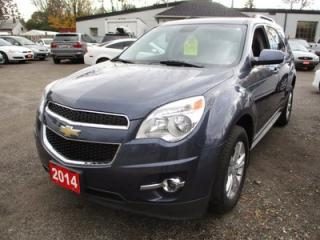 Used 2014 Chevrolet Equinox LOADED 2LT MODEL 5 PASSENGER 2.4L - 4 CYL.. LEATHER.. HEATED SEATS.. POWER SUNROOF.. BLUETOOTH.. CD/AUX/USB.. BACK-UP CAM.. for sale in Bradford, ON