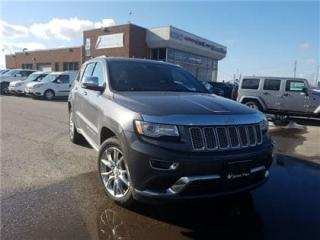 Used 2015 Jeep Grand Cherokee Summit Navigation, Leather, Panoramic Sunroof !! for sale in Concord, ON