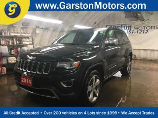 Used 2014 Jeep Grand Cherokee LIMITED*4WD*NAVIGATION*PANORAMIC SUNROOF*LEATHER*BACK UP CAMERA*HEATED/COOLED FRONT SEATS*U CONNECT PHONE*POWER REAR LIFT GATE*PUSH BUTTON START* for sale in Cambridge, ON