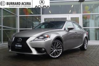 Used 2014 Lexus IS 250 AWD 6A With Navigation & back up sensors! for sale in Vancouver, BC