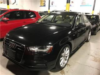 Used 2015 Audi A4 S-LINE NAVIGATION XENON PUSH START for sale in Mississauga, ON