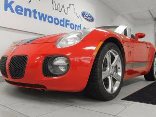 Used 2008 Pontiac Solstice GXP 5-speed manual with a convertible soft top for sale in Edmonton, AB