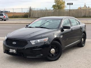 Used 2015 Ford Taurus Police *AWD BACK UP CAM* FINANCING AVAILABLE! for sale in Mississauga, ON