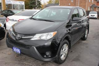 Used 2015 Toyota RAV4 LE AWD bluetooth for sale in Brampton, ON