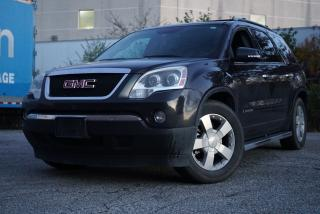 Used 2008 GMC Acadia SLT2,Navi,Rear Cam,DVD,Leather,Sunroof for sale in North York, ON