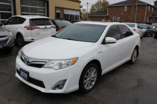Used 2014 Toyota Camry XLE Hybrid Sunroof Navi Loaded for sale in Brampton, ON