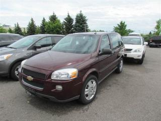 Used 2008 Chevrolet Uplander LS for sale in North York, ON