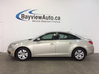 Used 2015 Chevrolet Cruze LT- TURBO AUTO REM STRT REV CAM BLUETOOTH CRUISE! for sale in Belleville, ON