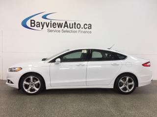 Used 2016 Ford Fusion SE- 2.5L|KEYPAD ENTRY|AUTO|ALLOYS|A/C|SYNC|CRUISE! for sale in Belleville, ON
