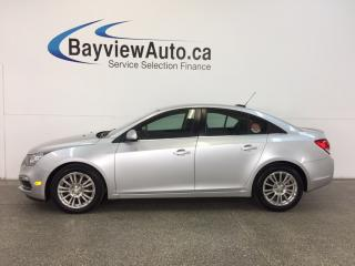 Used 2015 Chevrolet Cruze - TURBO 6 SPEED ECO MODE REV CAM BLUETOOTH CRUISE! for sale in Belleville, ON
