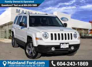 Used 2016 Jeep Patriot Sport/North NO ACCIDENTS, LOCAL for sale in Surrey, BC