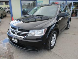 Used 2015 Dodge Journey POWER EQUIPPED SE MODEL 5 PASSENGER 2.4L - DOHC.. TOUCH SCREEN.. KEYLESS ENTRY & START.. U-CONNECT BLUETOOTH.. for sale in Bradford, ON