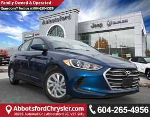 Used 2017 Hyundai Elantra LE *ACCIDENT FREE* for sale in Abbotsford, BC