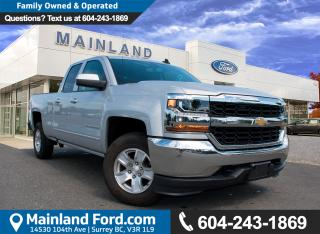 Used 2017 Chevrolet Silverado 1500 1LT NO ACCIDENTS, LOCAL, LOW KMS for sale in Surrey, BC