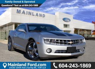 Used 2012 Chevrolet Camaro 1LT NO ACCIDENTS, LOCAL for sale in Surrey, BC