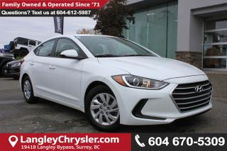 Used 2017 Hyundai Elantra *ACCIDENT FREE * DEALER INSPECTED * CERTIFIED * for sale in Surrey, BC