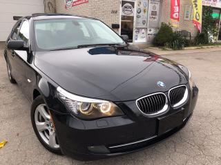 Used 2008 BMW 5 Series 535xi_LEATHER_SUNROOF_LUXURY for sale in Oakville, ON
