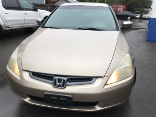 Used 2004 Honda Accord V6 for sale in Etobicoke, ON