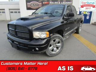Used 2004 Dodge Ram 1500 Laramie  AS IS (UNCERTIFIED) AS TRADED for sale in St Catharines, ON