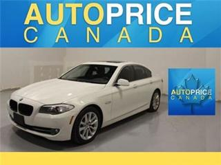 Used 2013 BMW 5 Series xDrive NAVIGATION MOONROOF LEATHER for sale in Mississauga, ON