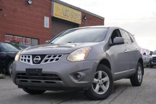 Used 2013 Nissan Rogue S, Bluetooth,Sunroof,Alloy for sale in North York, ON