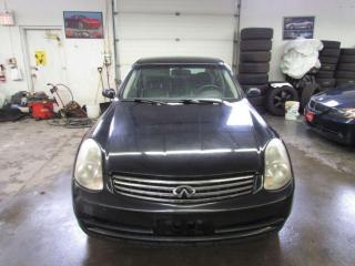 Used 2003 Infiniti G35 G35, CLEAN CAR, A/C for sale in North York, ON