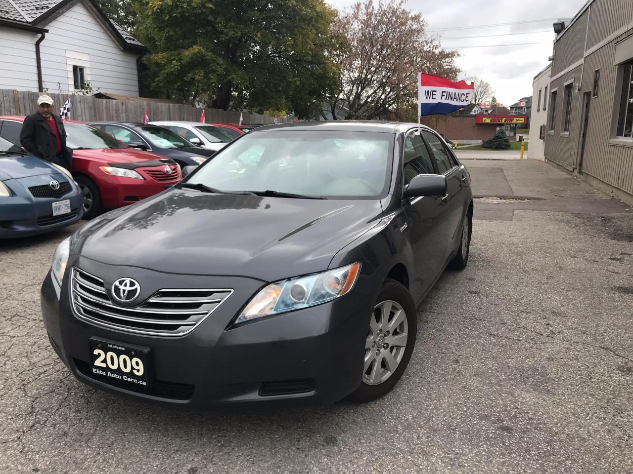 Used 2009 Toyota Camry Hybrid For Sale In Cambridge