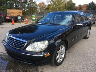 Used 2003 Mercedes-Benz S-Class 4.3L for sale in Scarborough, ON