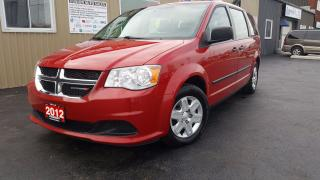 Used 2012 Dodge Grand Caravan SE-Sto-N-Go- 7 Passenger for sale in Tilbury, ON