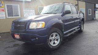 Used 2005 Ford Explorer Sport Trac XLT COMFORT-SUNROOF-TONNEAU COVER-PWR SEATS for sale in Tilbury, ON
