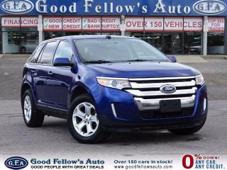 Used 2014 Ford Edge SEL MODEL, 6CY 3.5 LITER, AWD, REARVIEW CAMERA for sale in North York, ON