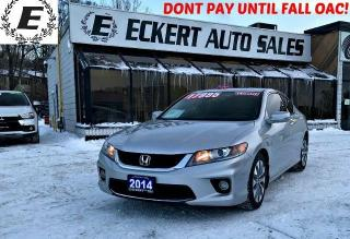 Used 2014 Honda Accord COUPE EX /REVERSE CAMERA/SUNROOF for sale in Barrie, ON