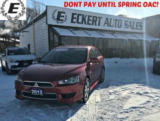 Used 2012 Mitsubishi Lancer Sportback SE WITH HEATED SEATS for sale in Barrie, ON