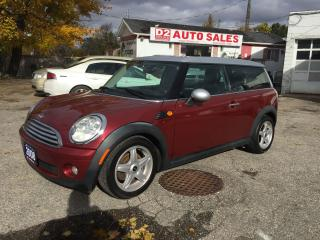 Used 2008 MINI Cooper Clubman 1.6L Super Gas Saver/PanoRoof/Certified for sale in Scarborough, ON