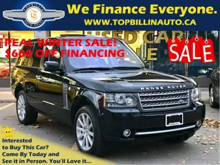 Used 2011 Land Rover Range Rover Supercharged, ONLY 105K, 2 YEARS WARRANTY for sale in Concord, ON