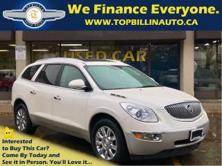Used 2012 Buick Enclave CXL AWD LEATHER, SUNROOF, 2 Years Warranty for sale in Concord, ON