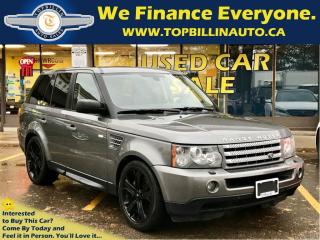 Used 2009 Land Rover Range Rover SPORT SUPERCHARGED for sale in Concord, ON