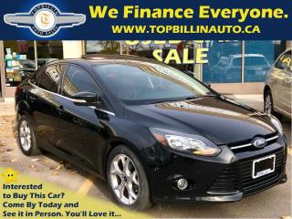 Used 2013 Ford Focus Titanium, NAVI, SUNROOF, LEATHER for sale in Concord, ON